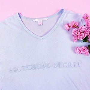 Victoria's Secret Baby Blue Dress Shirt